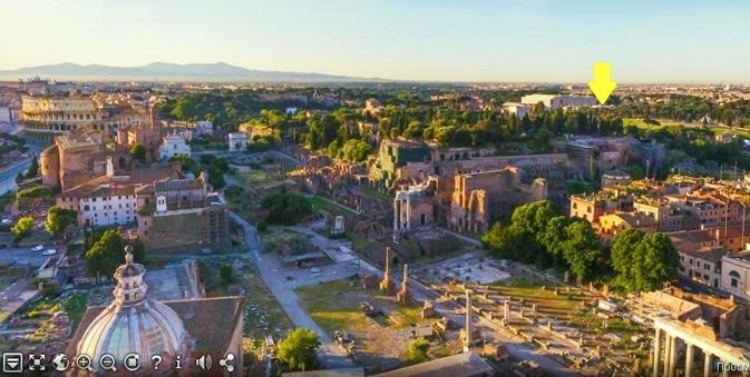 Roma aventino appartamento piano alto nuda propriet for Aventino immobiliare