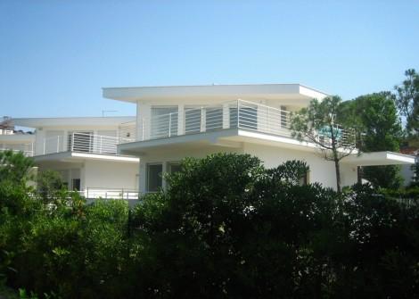 1 Villa Fregene architettura moderna